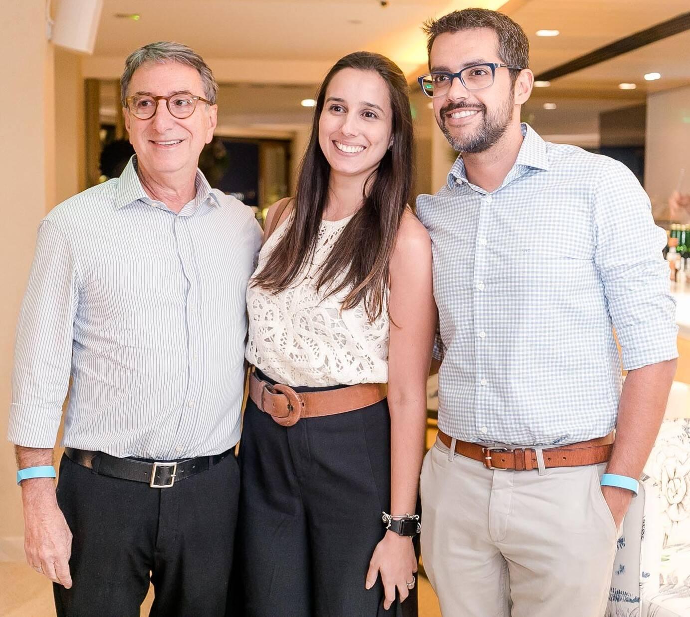 Salomão Crosman, Marina Dipre e Marcelo Moura /Foto: Miguel Sá