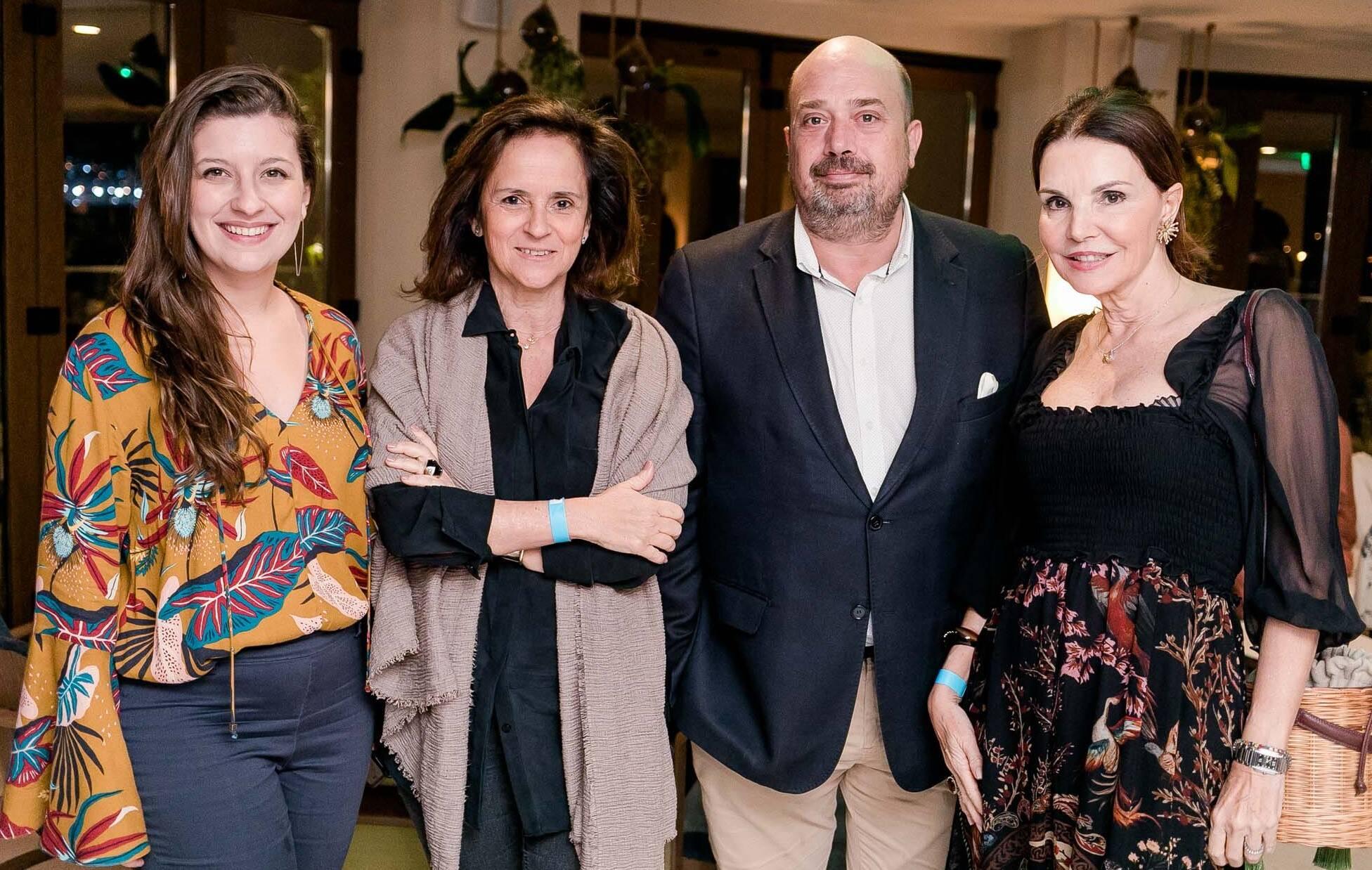 Camila Salgueiro, Patricia Quentel, Michael Nagy e Patricia Mayer /Foto: Miguel Sá