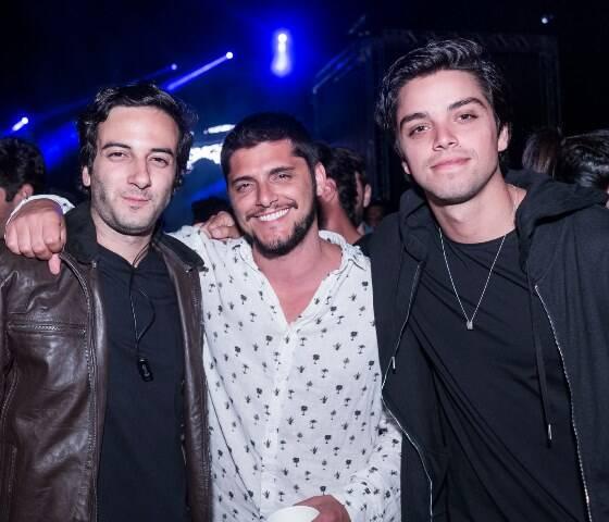 Felipe Ramalho, Bruno Gissoni e Rodrigo Simas