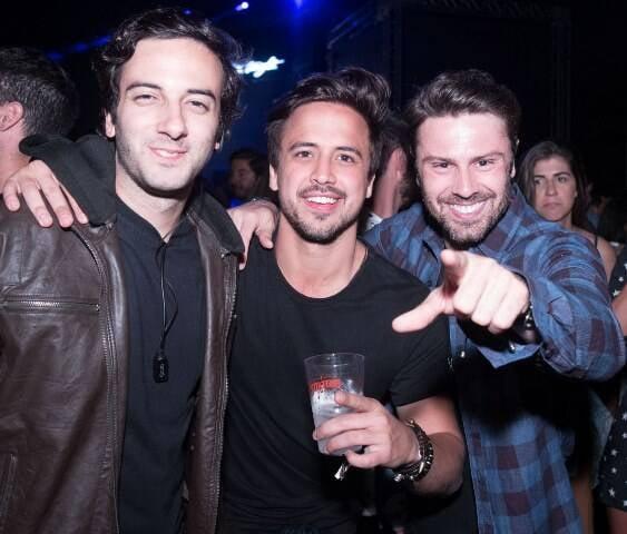 Felipe Ramalho, Guilherme Lobianco e Sergio Capriatti