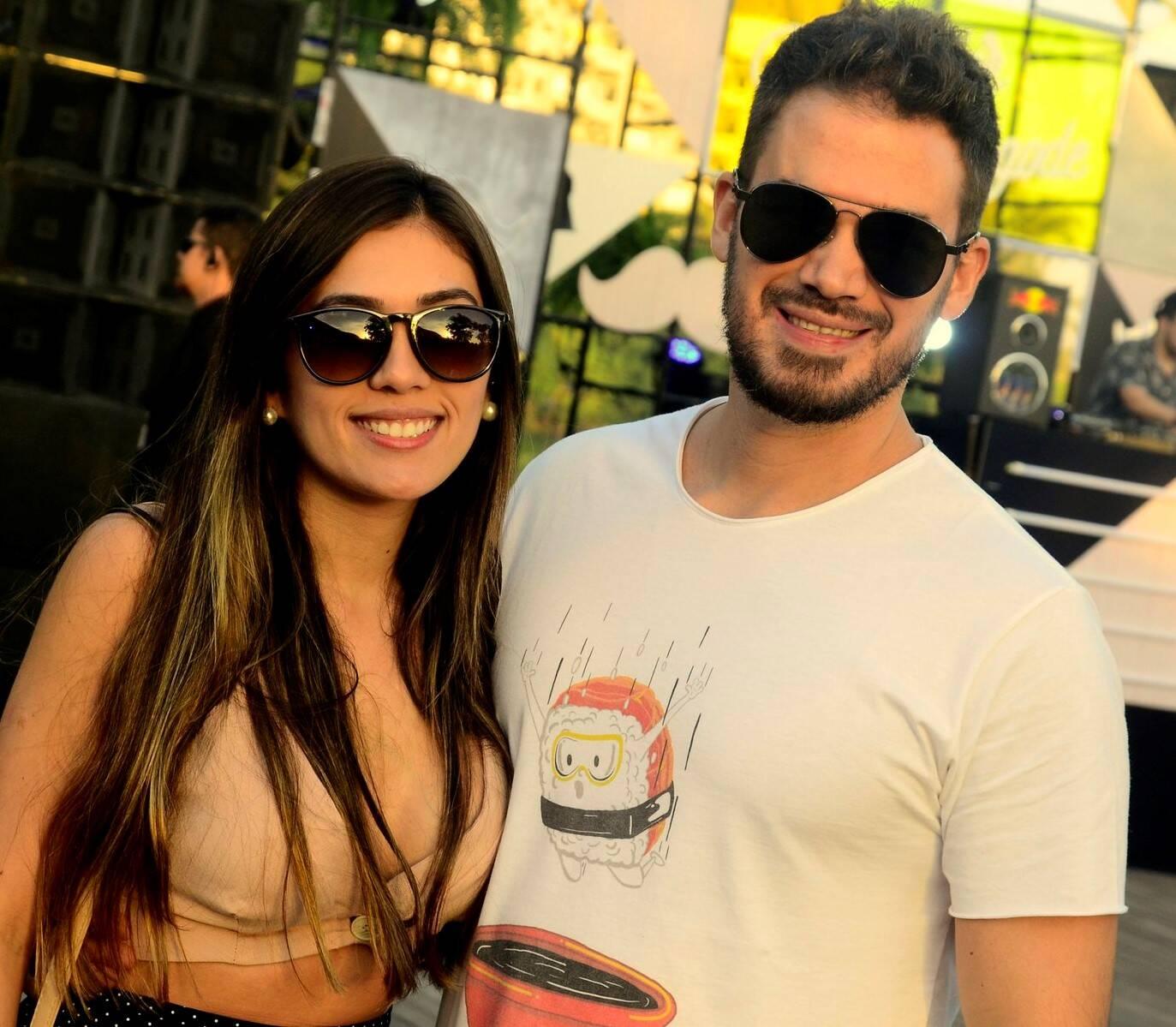 Bruna Santos e  Alexandre Cardoso /Foto: Leo Marinho/Divulgação