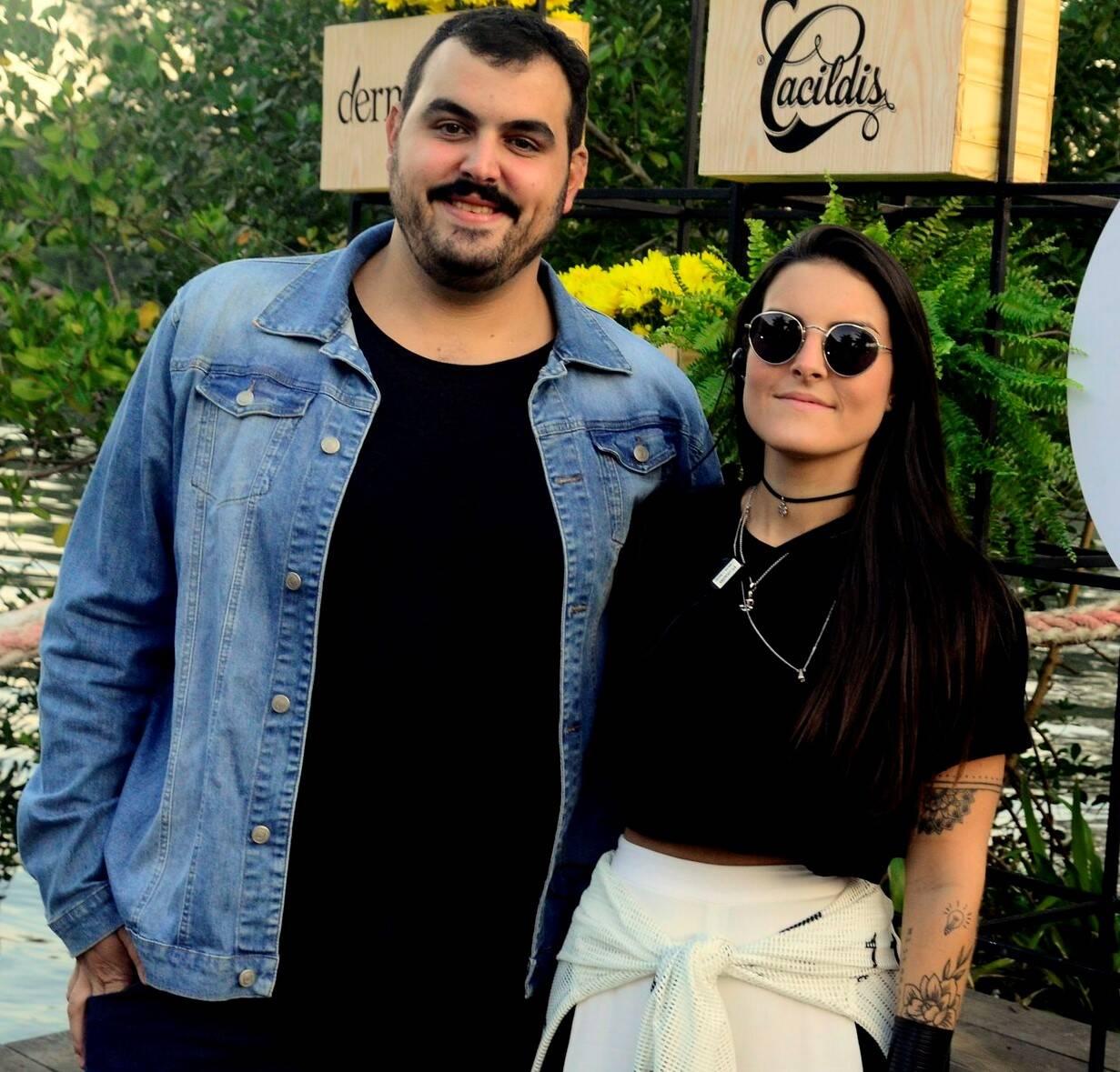 Bruno e Ana Luiza Vidal /Foto: Leo Marinho/Divulgação
