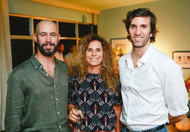 Arthur Araújo, Monica Penaguião e Pedro Igor Alcântara