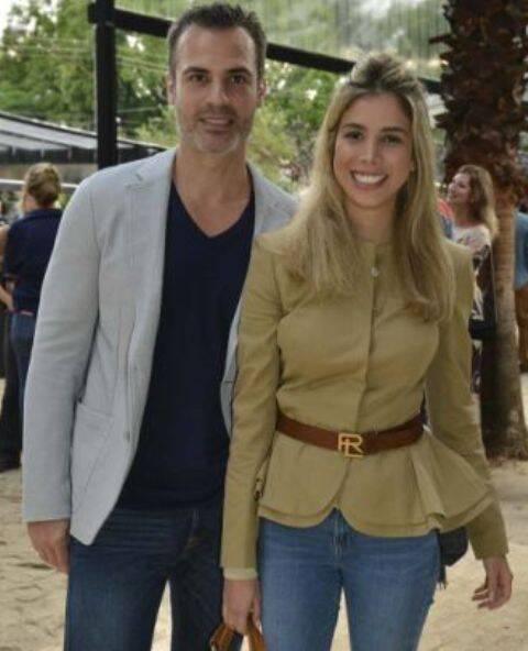 Marcelo Falcone e Laurita Mourão
