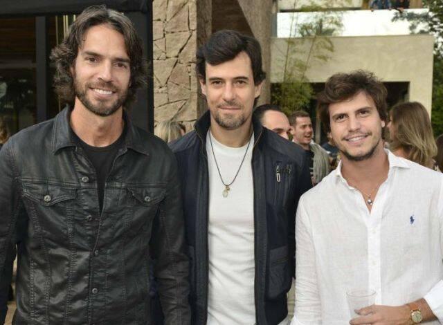 André Diniz, Felipe Voietta e Pedro Braun