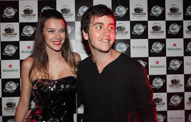 Mariana Molina e Wagner Santisteban