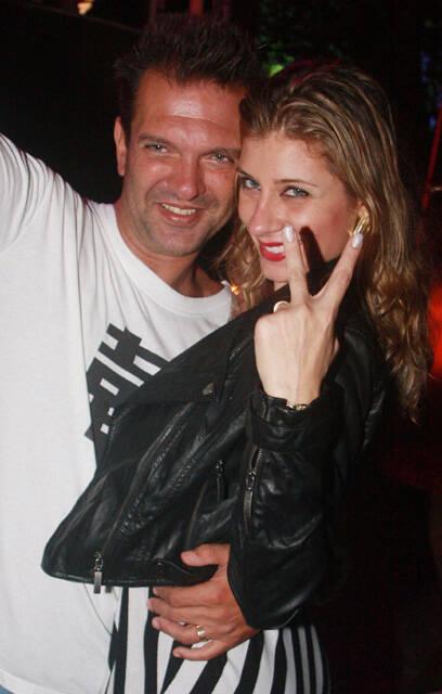 Luis Alberto Machado e Samantha Seabra