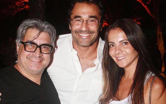 Sérgio Mattos, Luciano Szafir e Isabela Menezes