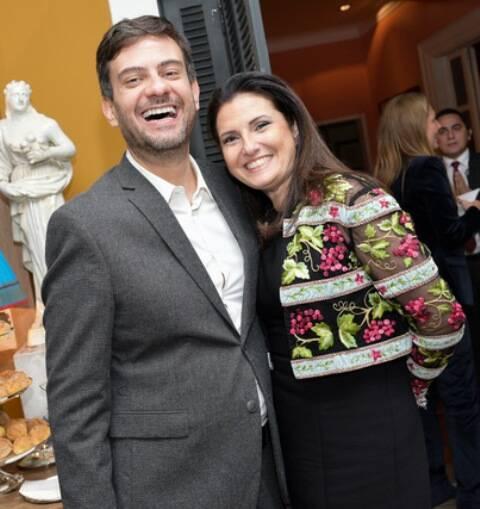 Bruno Astuto e Cris Lotaif
