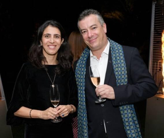 Daniela Tarneaud e Matthieu Peluchon