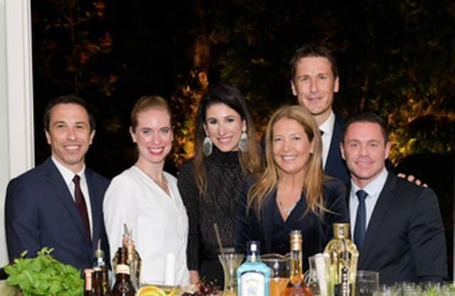 Equipe Ritz e Air France com Donata Meirelles  e Paula Rita Saady
