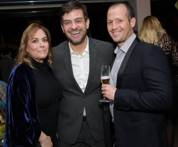 Esther Giobbi, Bruno Astuto e Flavio Oliveira