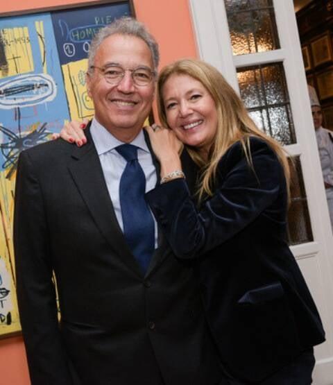 Nizan Guanes e Donata Meirelles