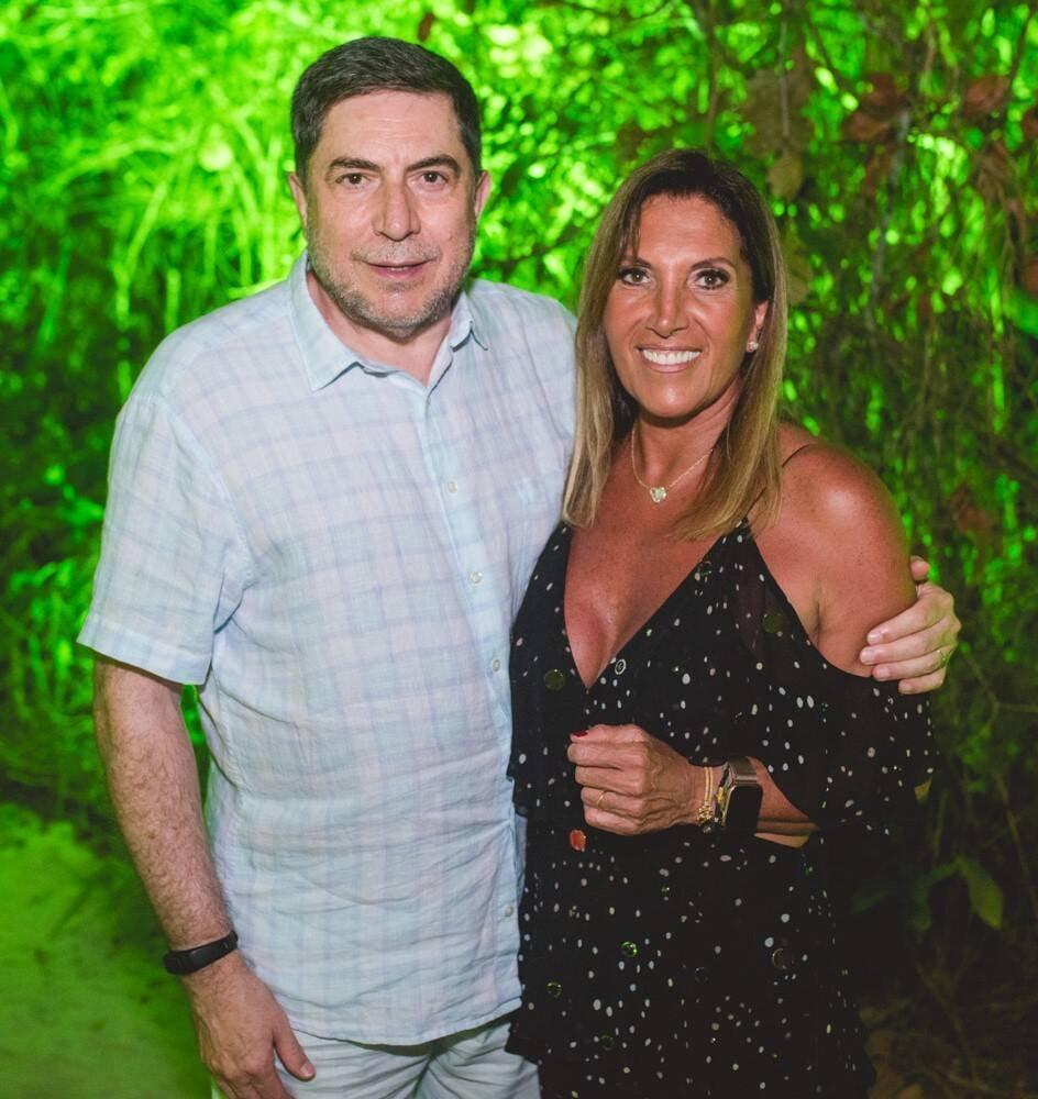 Luis Trabuco e Lucilia Diniz /Foto: Gustavo Menasce