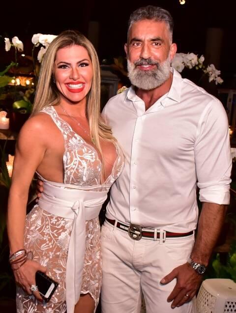 Adriana Cavalieri e Mohamad Barakat