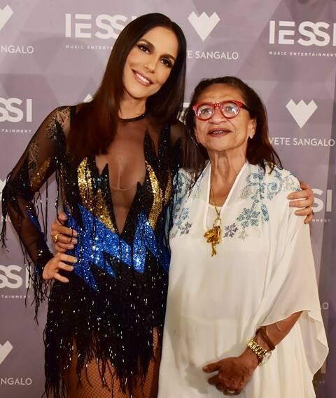 Ivete Sangalo e Lícia Fábio
