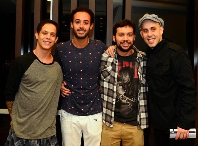 Magno Brito, José Gil, Luiz Quinderé e Pedro Baby