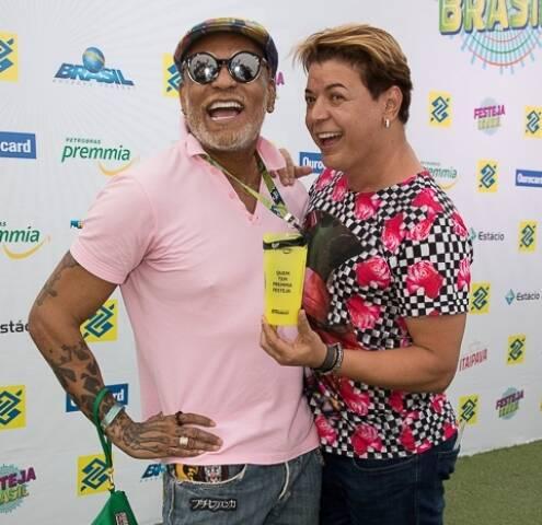 Paulão Estrela e David Brazil