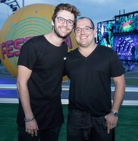 Gil Coelho e Michel Diamant