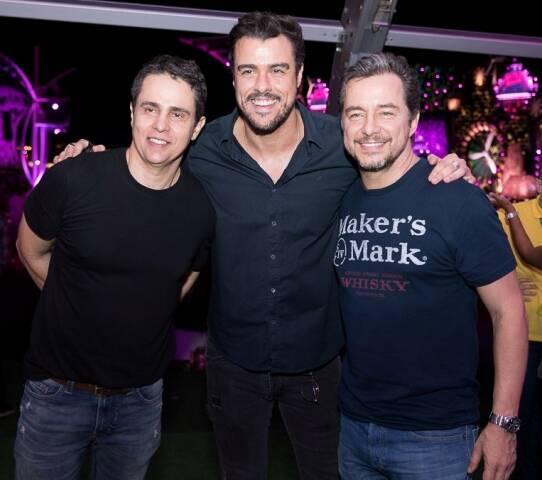 Luciano Rabello, Joaquim Lopes e Carlos Vieira