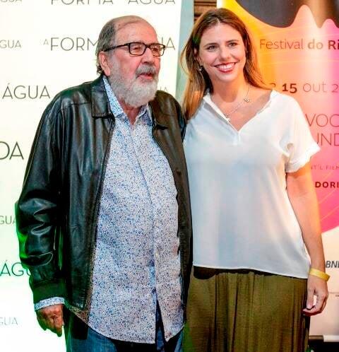 Cacá Diegues e Renata Almeida Magalhães