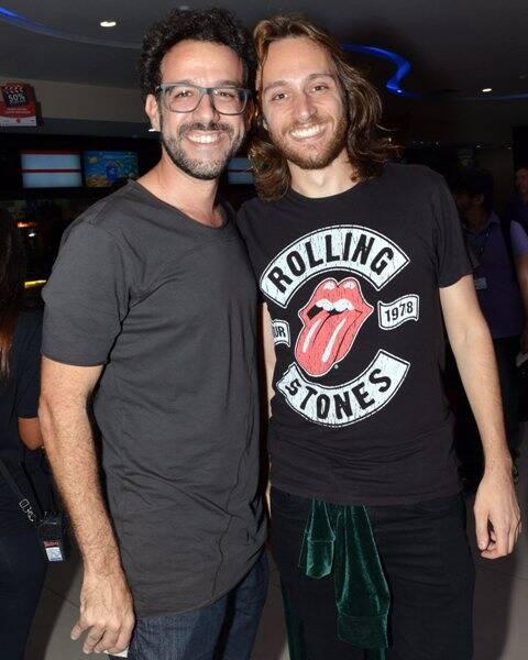 Márcio Debellian e Pedro Colombo
