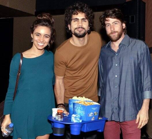 Isabella Dragão, Ciro Salles e Pedro Nercessian