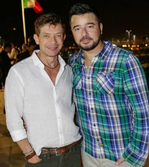 André Piva e Carlos Tufvesson