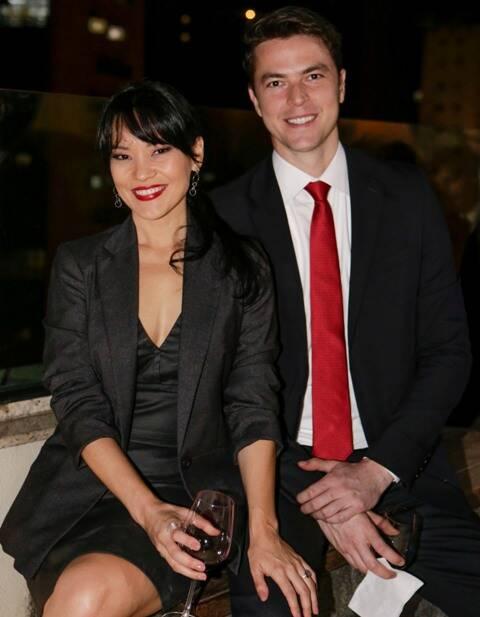 Geovanna Tominaga e Eduardo Duarte