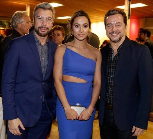 Fernando Torquatto, Thaissa Carvalho e Carlos Vieira