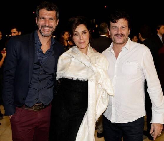Nicola Siri, Christiane Torloni e Roberto Birindelli