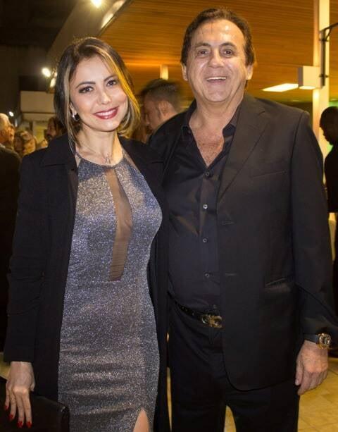 Simone Soares e Ricardo Rique