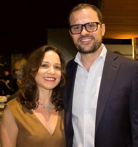 André Lazaroni e Beatriz Persinoto