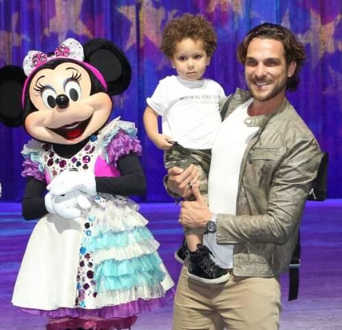 Igor Rickli e o filho Antonio