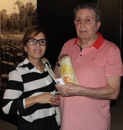 Daniel Filho e  Olívia Byington
