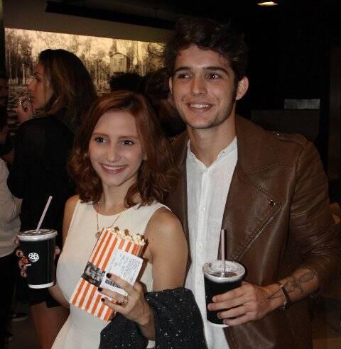 Lorena Comparato e Rafael Coimbra