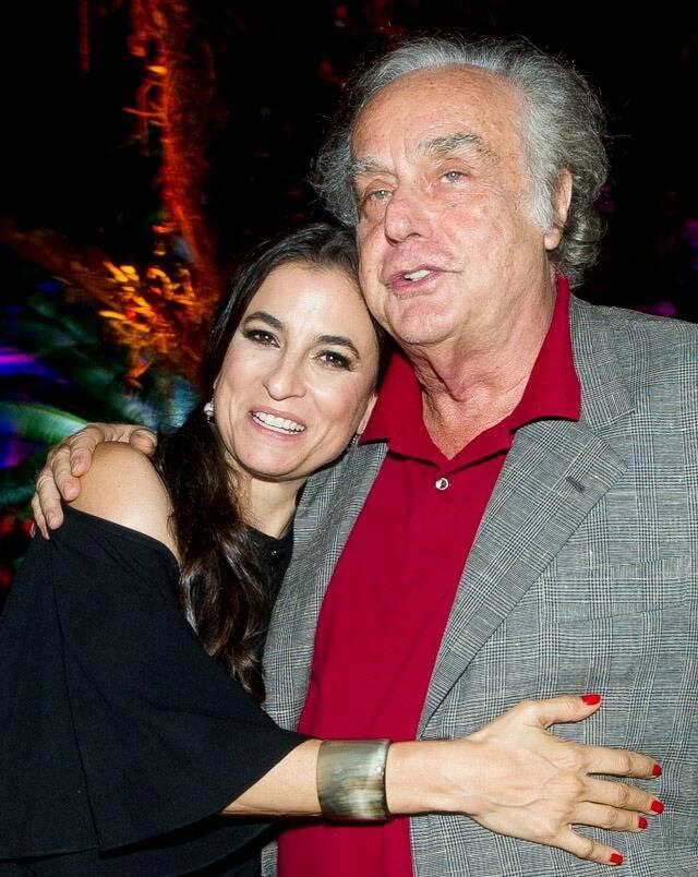 Maria Raduan e Arnaldo Jabor