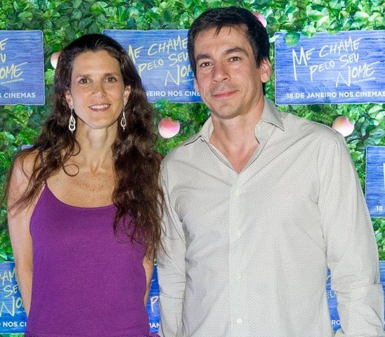 Roberta Suplicy e Phillip Bendenoun