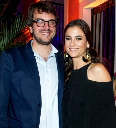 Rodrigo Teixeira e Maria Raduan