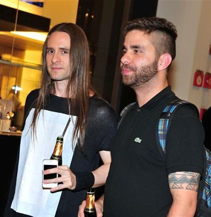 Deco Rodrigues e Carlos Prates