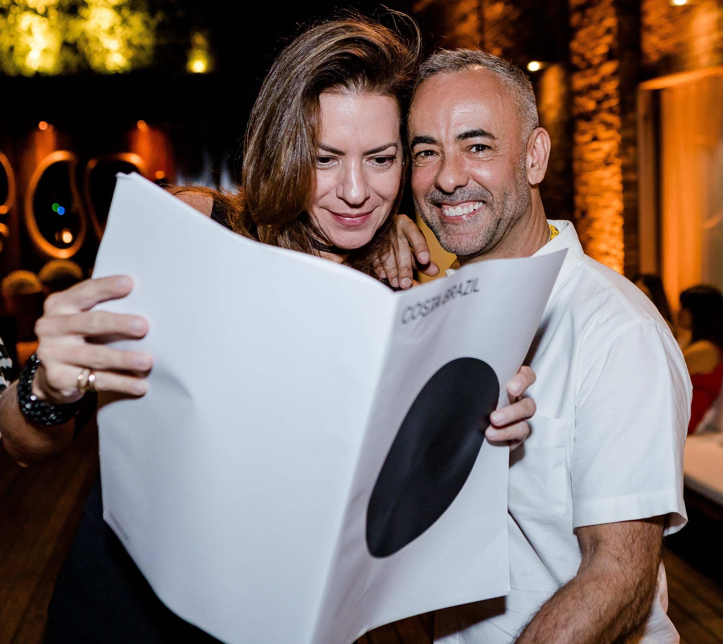 Noelia Chermont de Britto e Francisco Costa /Foto: Bruno Ryfer