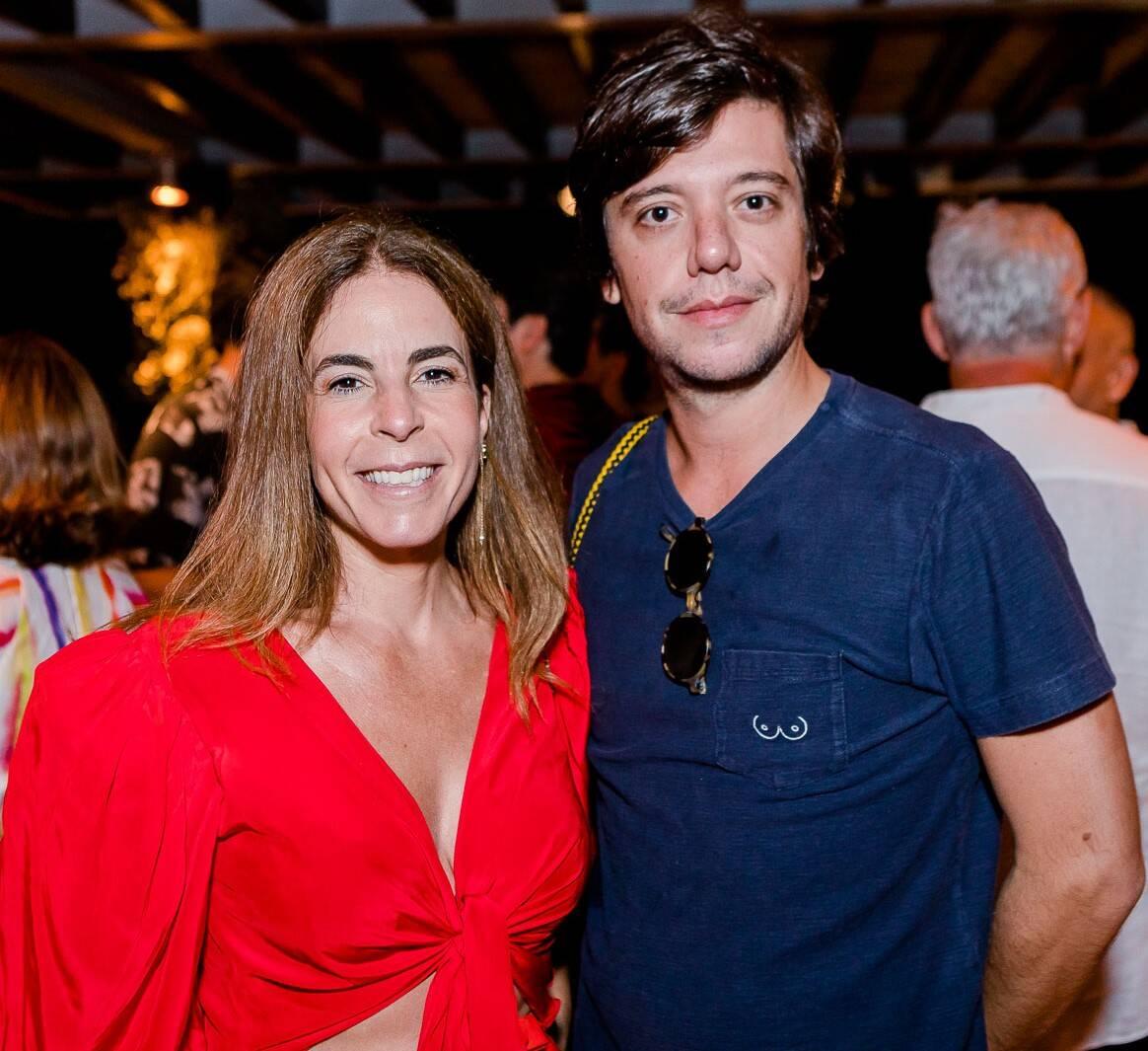 Jackie de Botton e Pedro Rosman /Foto: Bruno Ryfer