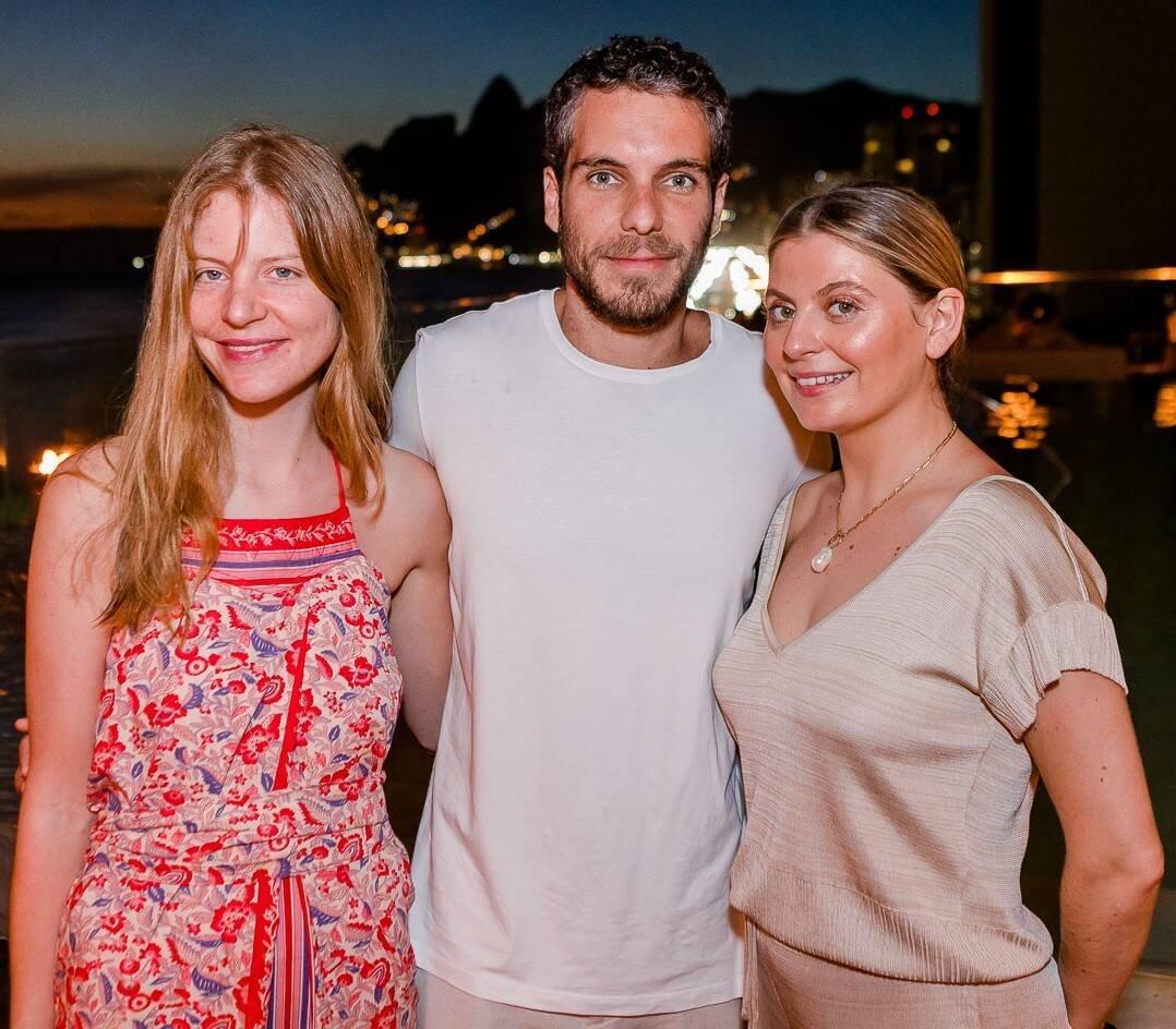 Henriette Seibert, Gabriel Raggio e Sophie Roche Conti /Foto: Bruno Ryfer