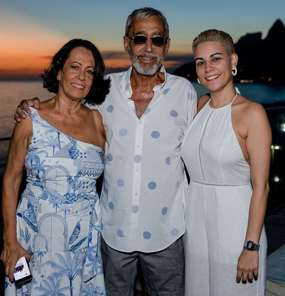 Jacymara Costa, Michel Ghougassian e Rafaela Costa  /Foto: Bruno Ryfer