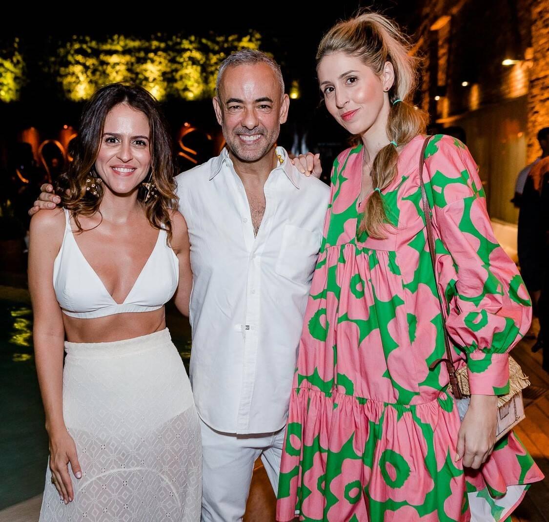 Paula Bezerra de Mello, Francisco Costa e Paula Merlo /Foto: Bruno Ryfer