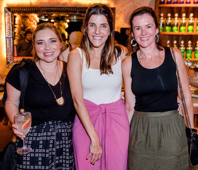 Sissi Freeman, Luisa Viveiros e Manuela Romanelli /Foto: Bruno Ryfer