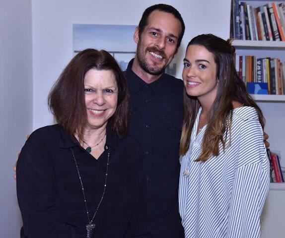 Vanda Klabin, Marcelo Macedo e Clara Veiga