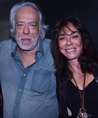 Fausto Fawcett e Ana Luiza Rego