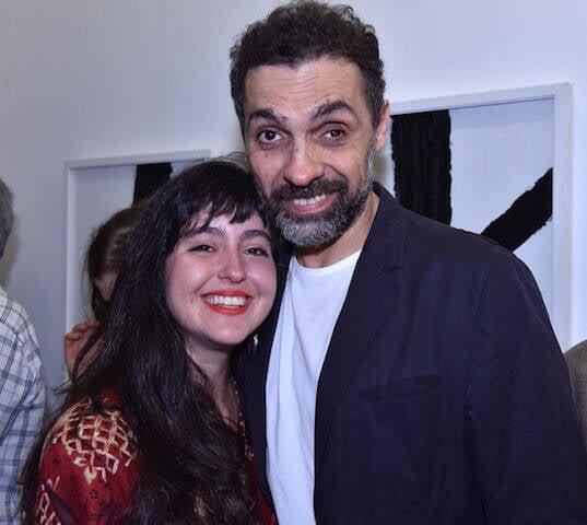 Anna Costa e Silva e José Damasceno