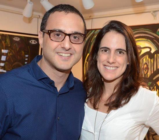 Cândido Carneiro e Letícia Trigo
